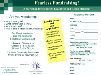 Fearless Fundraising