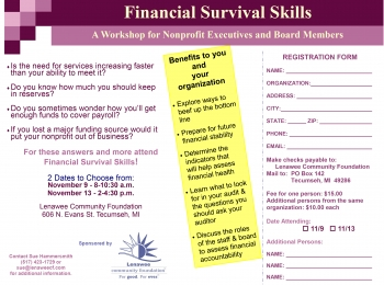 Financial Survival Skills