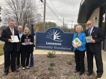 Lenawee Community Foundation is awarded a $15,000